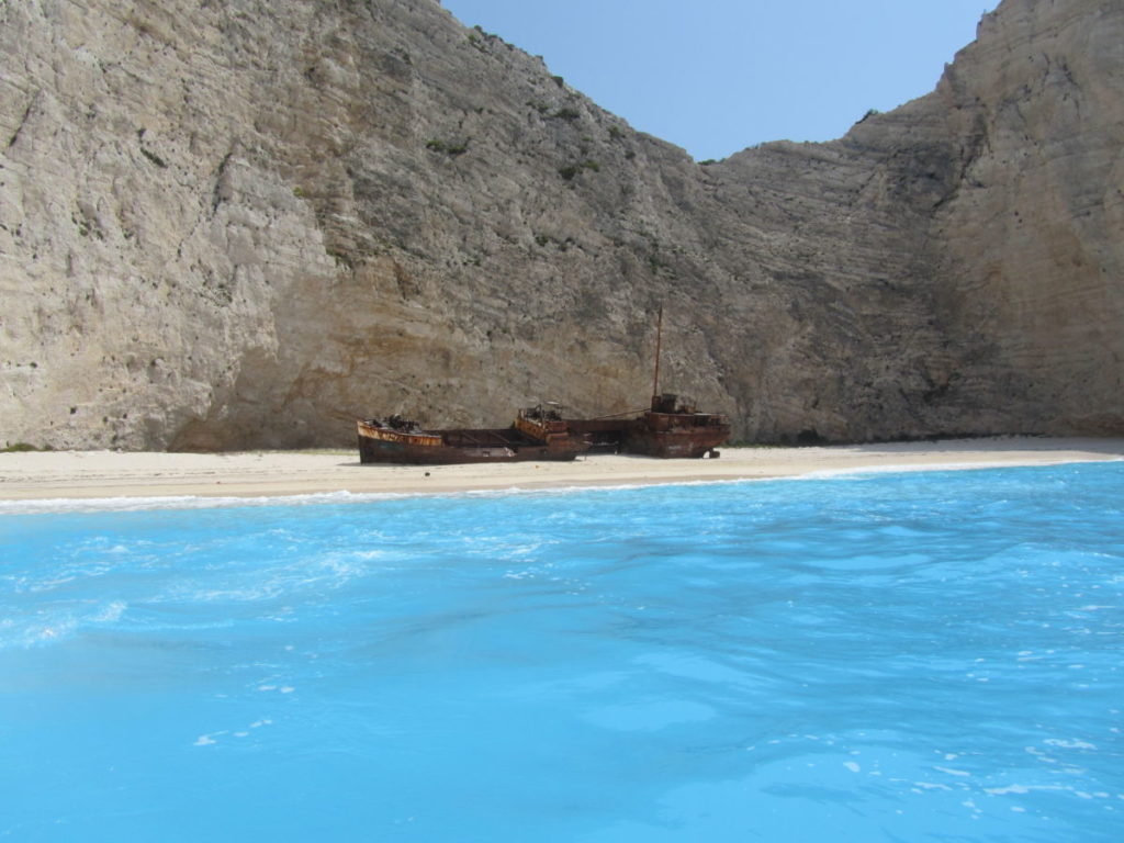 Navagio Beach and Shipwreck 'Smugglers Cove' Zakynthos