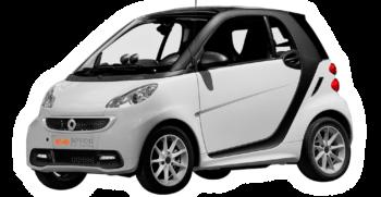 Zakynthos rent a Smart car