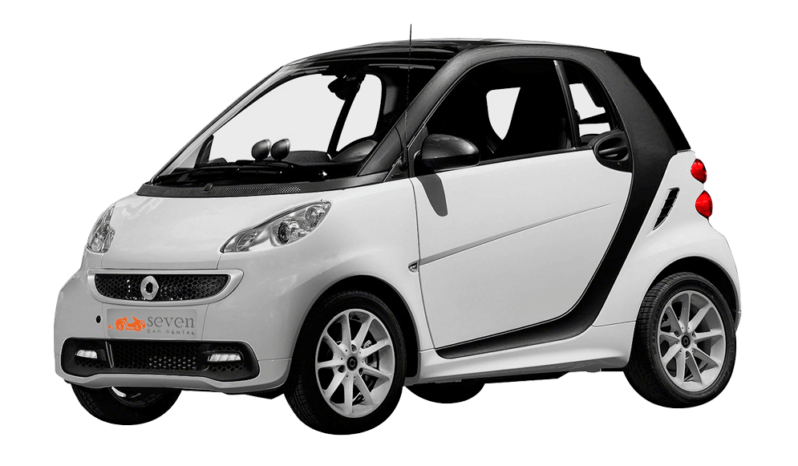 Zakynthos rent a Smart car