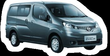Rent a Nissan Evalia car in Zante