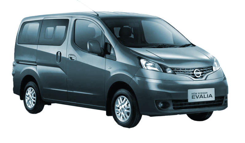Rent a Nissan Evalia car in Zante